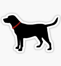 Labrador Retriever, Black Lab Sticker