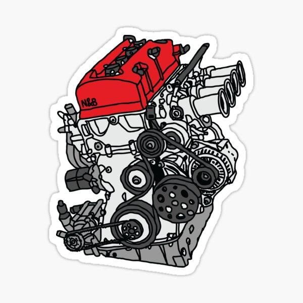 Honda S2000 F20C Engine Sticker