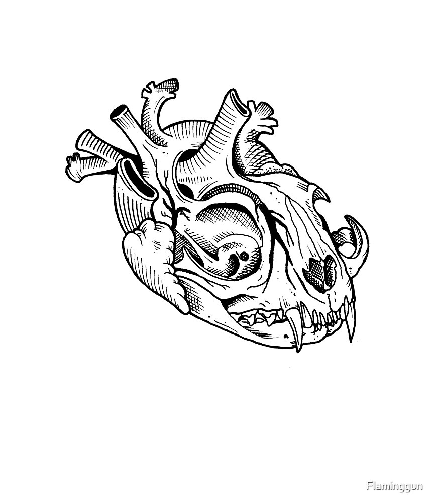 I Heart Cats - Alex Bach by Flaminggun