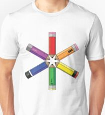 Pencil Wheel Unisex T-Shirt