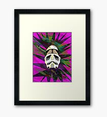 the force of brain Framed Print