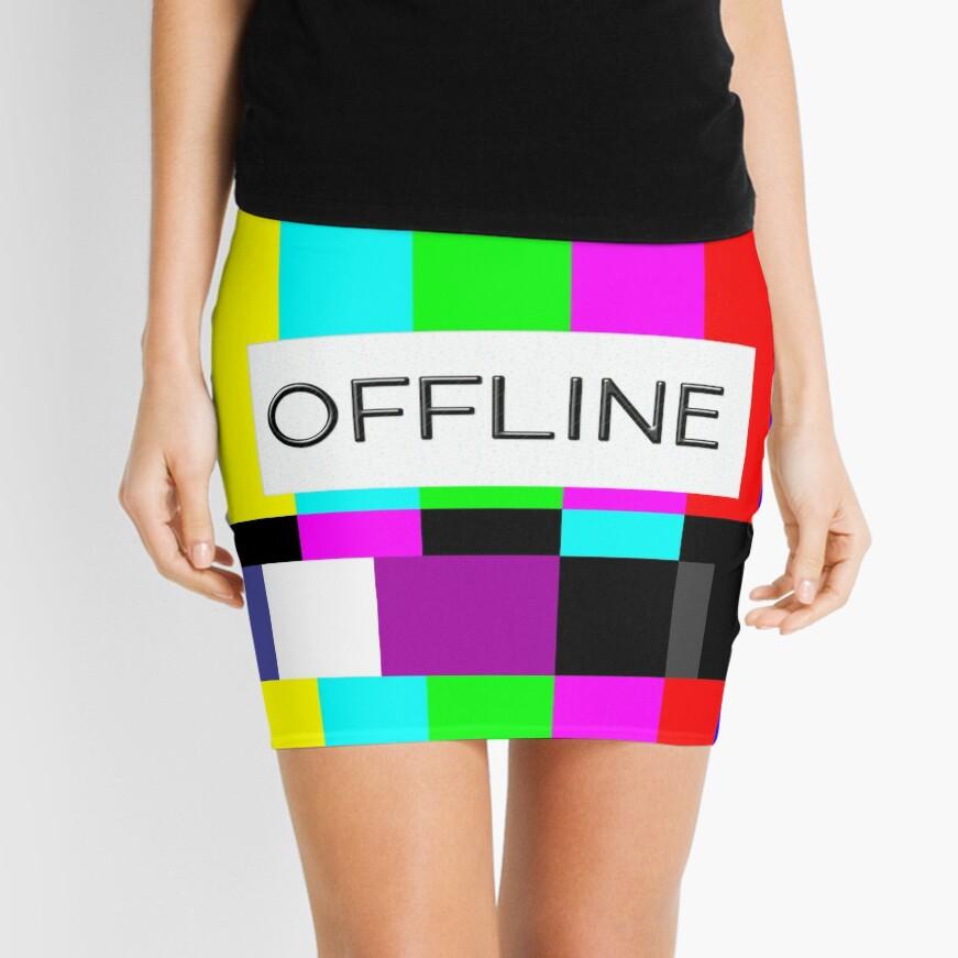 OFLLINE Mini Skirt