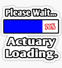 Please Wait ... Actuary Loading Sticker