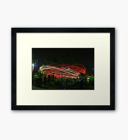 Dizzy Framed Print