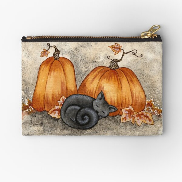 Pumpkin Nap Zipper Pouch