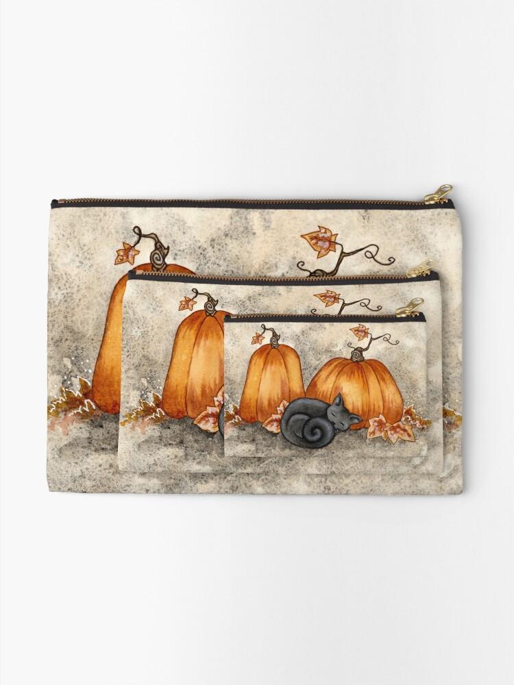 Alternate view of Pumpkin Nap Zipper Pouch