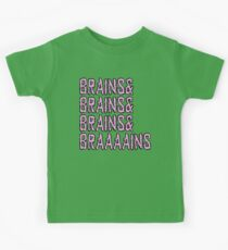Zombie Brains& Braaaains Kids Clothes
