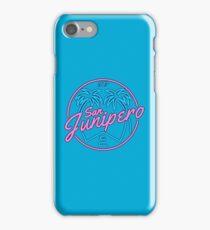baby blue junipero iPhone Case/Skin