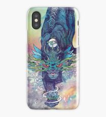 Spectral Cat iPhone Case/Skin