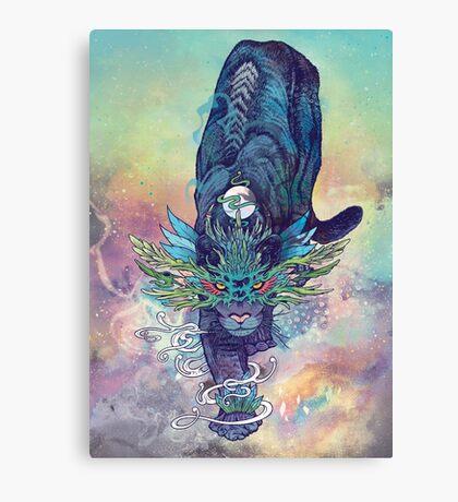 Spectral Cat Canvas Print