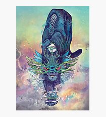 Spectral Cat Photographic Print