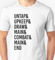 Magic MTG Game Phases Unisex T-Shirt