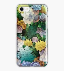 Succulent World iPhone Case/Skin
