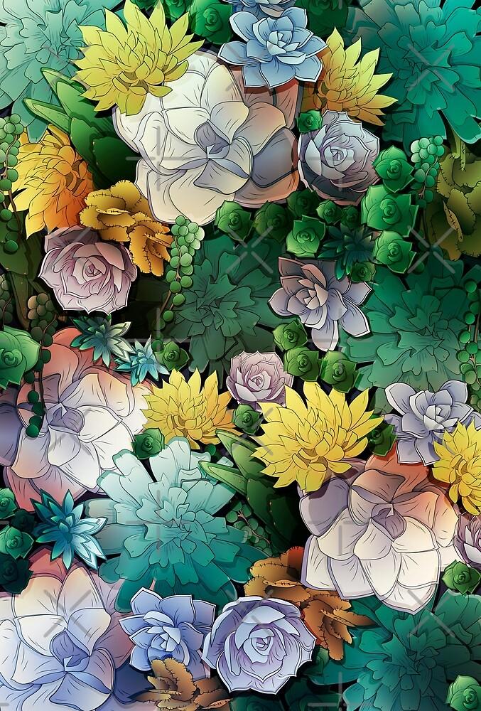 Succulent World by noeldelmar