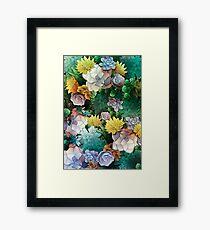 Succulent World Framed Print