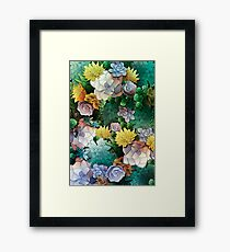 Succulent World Framed Print