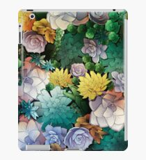 Succulent World iPad Case/Skin