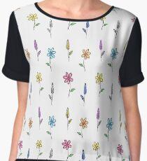 Fresh flowers Women's Chiffon Top