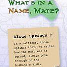 Alice Springs by Duncan Waldron