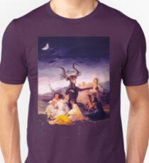 Francisco De Goya witches sabbath Unisex T-Shirt