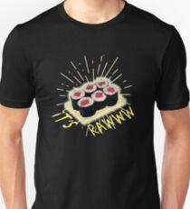Funny Raw Cooked Sushi Unisex T-Shirt