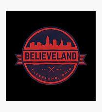 believeland Photographic Print