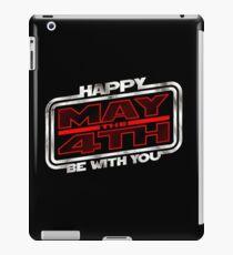 Happy May 4th V1 iPad Case/Skin