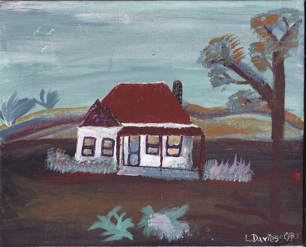 Old style house by leese1983
