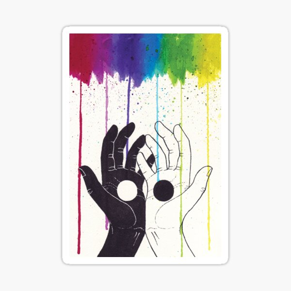 Catching Color Sticker