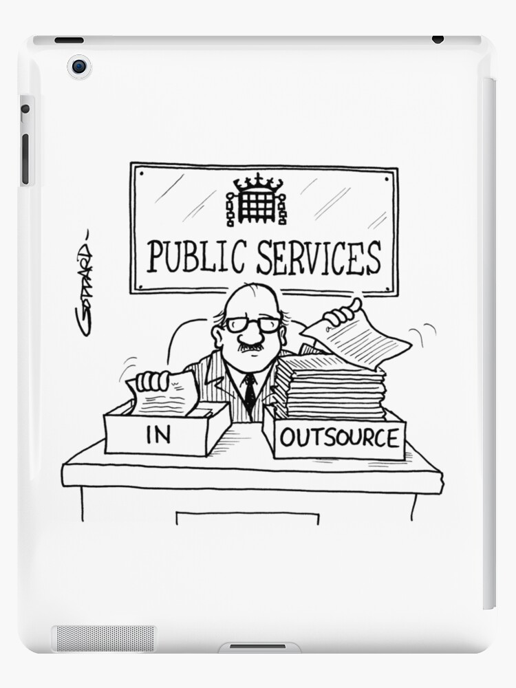 Outsourcing by goddardcartoons