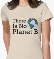 There Is No Planet B - Inverse Women's Fitted T-Shirt