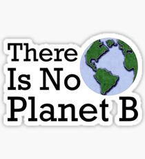 There Is No Planet B - Inverse Sticker
