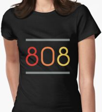 808 DRUM 2.0 Womens Fitted T-Shirt