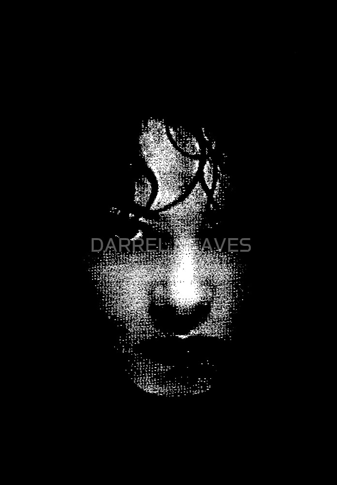 face in the dark by DARREL NEAVES