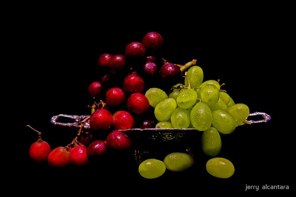 Just Grapes by jerry  alcantara