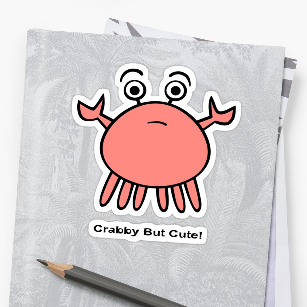 Crabby But Cute! by Zoe Lathey