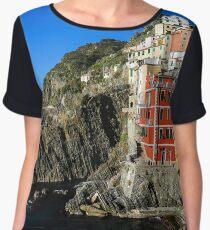 Monterosso al Mare, Liguria by creativetravelers.com Chiffon Top