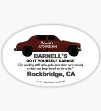 Darnell's Do It Yourself Sticker