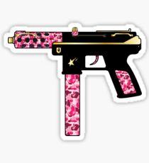 Bape gun Sticker