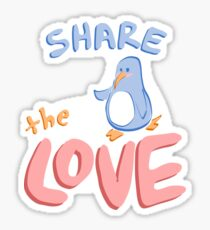 Share the Love Sticker