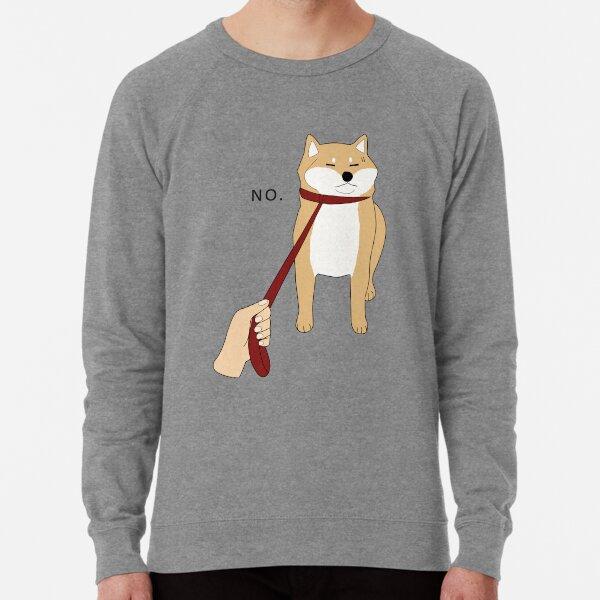 Shiba Inu No Lightweight Sweatshirt