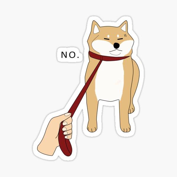 Shiba Inu No Sticker