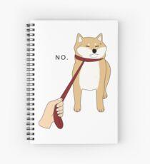 Shiba Inu No Spiral Notebook