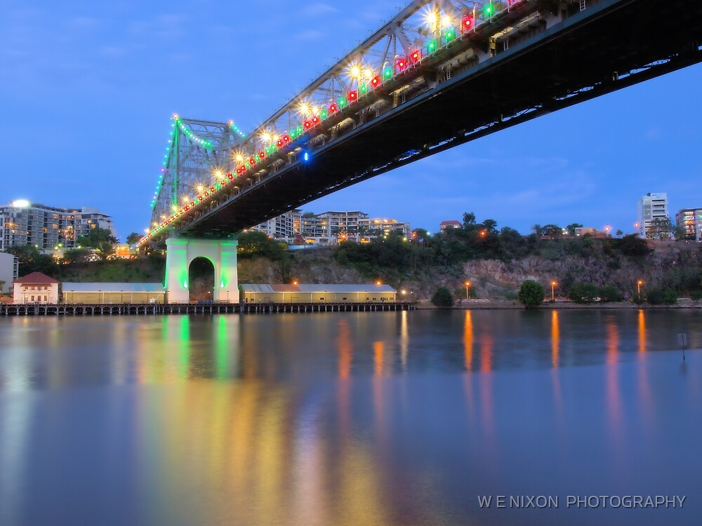 Christmas Bridge by W E NIXON  PHOTOGRAPHY