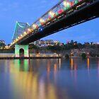Christmas Bridge by W E NIXON  PHOTOGRAPHY