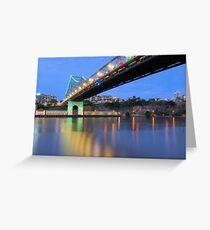 Christmas Bridge Greeting Card