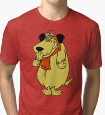 Muttley, Wacky Races, Retro  Tri-blend T-Shirt