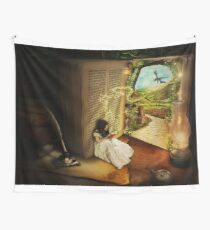 The Book Of Secret Wall Tapestry