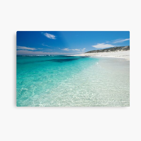 Crystal Clear. Metal Print