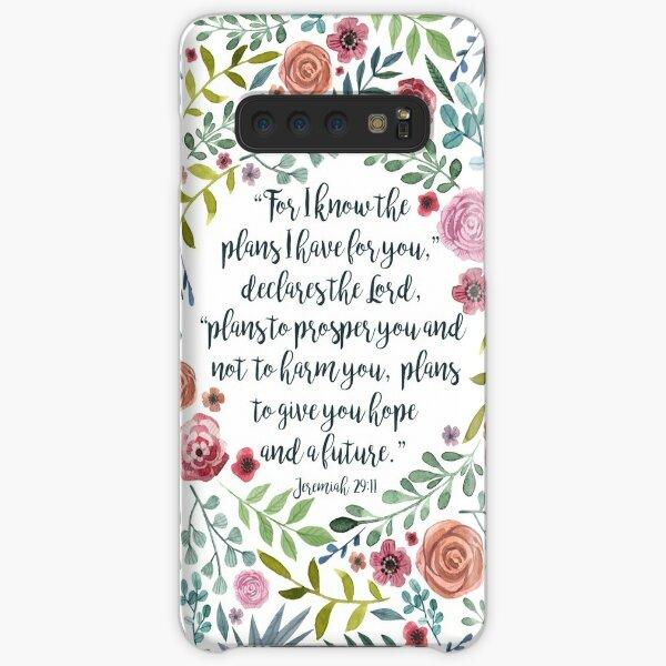 Jeremiah 29:11 Samsung Galaxy Snap Case
